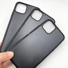 Back-Cover Phone-Case iPhone11pro for 11-max/Tpu/Empty Groove Depth 100pcs Blank Rubber