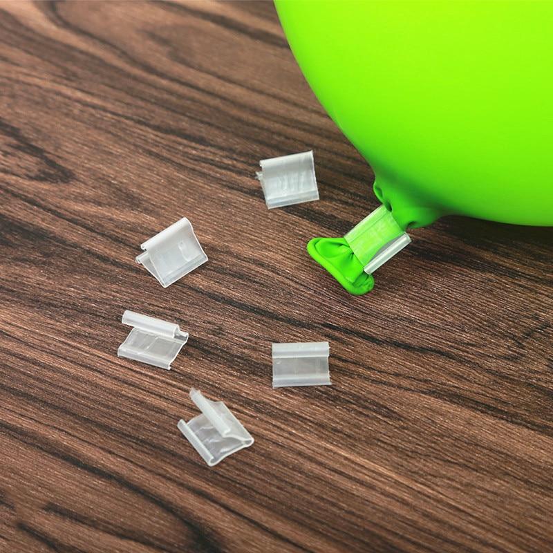 50Pcs Ballon Toys For Children Clip Useful Shape Air Balloon Buttons Sealing Clamp Party Decor Supplies Wholesale Birthday Toys