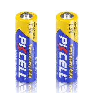 Image 2 - 50 pièces PKCELL AA batterie 1.5V aa Super robuste carbone zinc Batteries aa R6P UM 3 batterie pour jouets, appareil photo, laser, lampe de poche