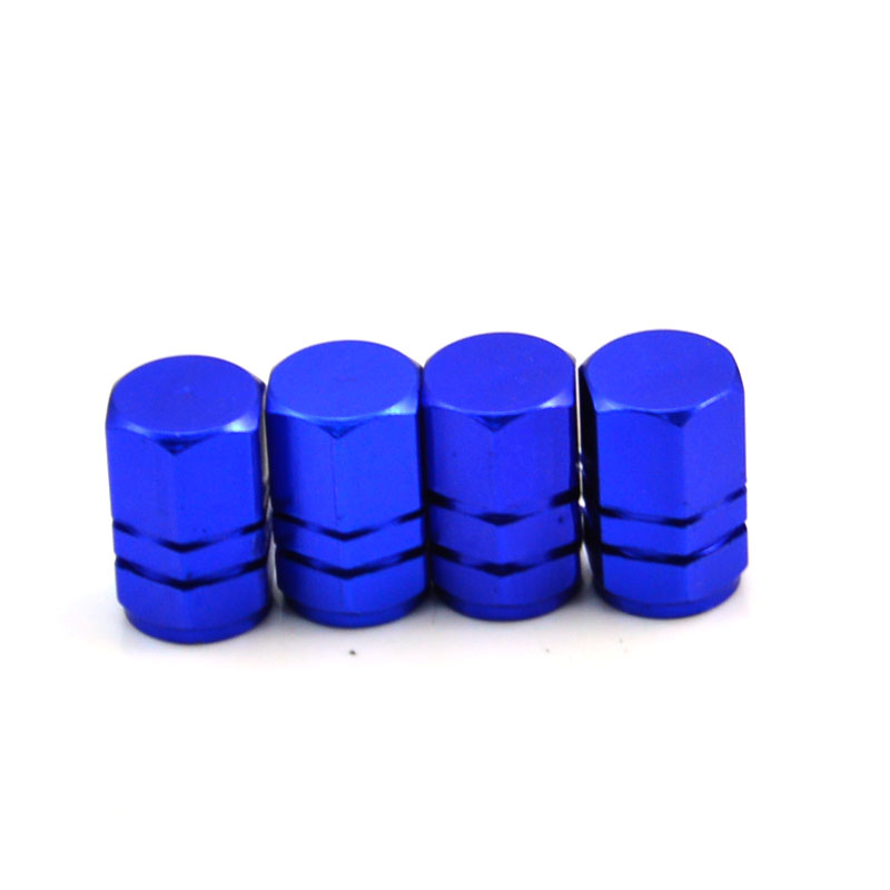 4pcs Theftproof Aluminum Alloy Car Wheel Tires Valves Tyre Stem Air Caps Airtight Cover Dustproof Cover Car Styling Accessories