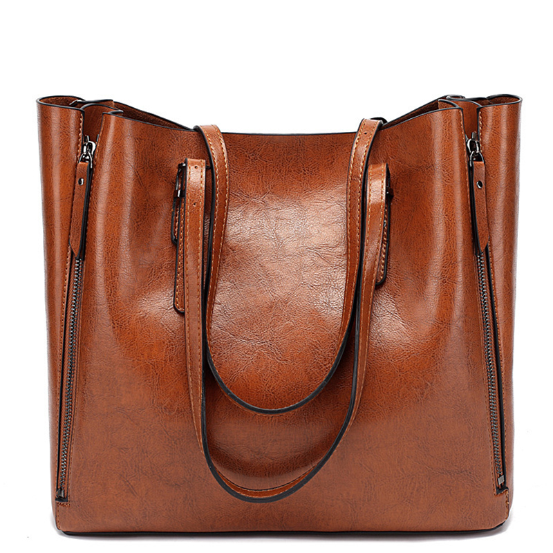 Famous Brand Handbag Women Leather Shoulder Bag Casual Messenger Bags Female Handbags Large Capacity Women's Bags WBS560