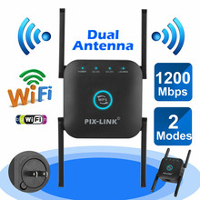 Wireless Wifi Repeater Fi-Booster Range-Extender Access-Point 1200mbps Home Long