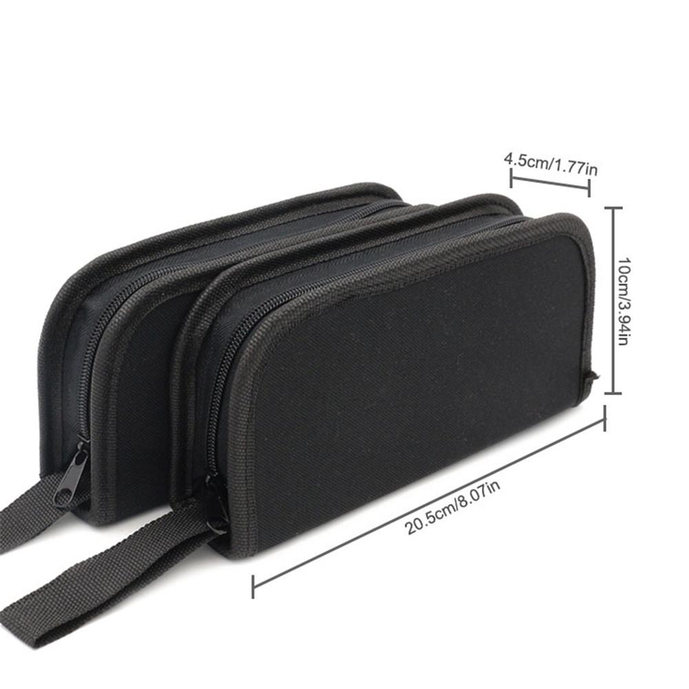 Oxford Cloth Waist Toolkit Bag Screwdriver Drill Waist Tool Belt Hand Bag Electrician Toolkit Pouch Case Repair Tool Storage Bag