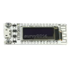 Image 2 - ESP8266 WIFI שבב 0.91 אינץ OLED CP2014 32Mb פלאש ESP 8266 מודול אינטרנט של דברים לוח PCB עבור NodeMcu אלקטרוני מודולים