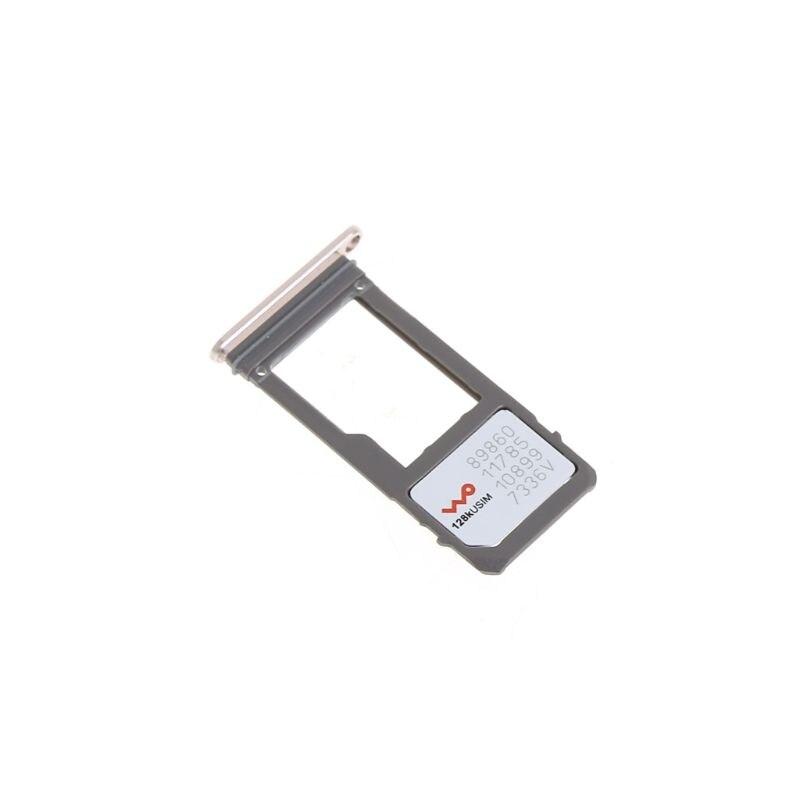 Задний А5 А7 2017 лоток SIM-карты для Samsung Галактики A520 A720 SIM-карты SD-карта адаптер держатель слот один двойной версия