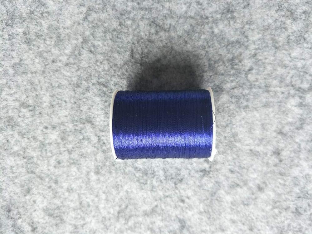 Металлическая нить для вышивки, аксессуары для одежды DIY, основные 15 видов цветов на выбор, нить для шитья, 1 шт - Цвет: royalblue