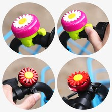 Horns Bicycle-Bell Cycling-Ring-Alarm Bike Handlebars Flower Funny Multi-Color Kids Children