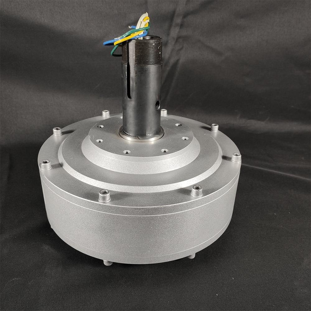 motor permanente coreless do gerador alternador 04