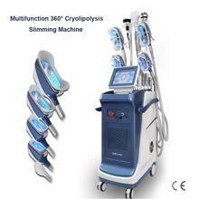 Multifunction fat freeze machine 5 Handles weight loss Body Sculpting Cryolipolysis Fat Freezing Slimming Machine