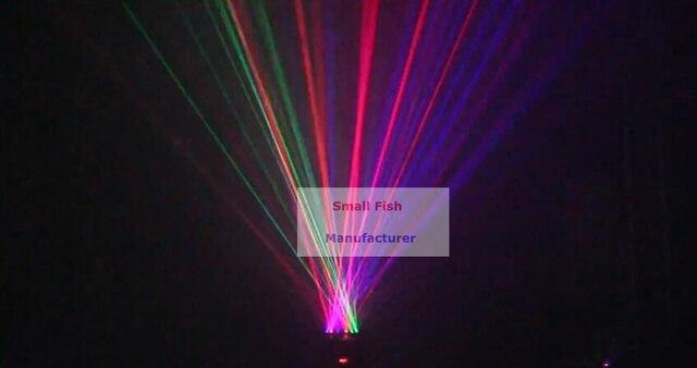 6 têtes de lumière principale mobile 700mw 120W système dexposition Laser rvb/équipement Dj/lumière Laser/lumière de scène/lumière Laser de vacances/Laser Dj