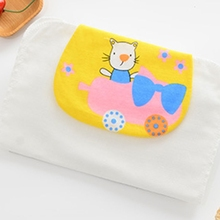 Baby Sweat-absorbent Towel Four-Layer Cotton Gauze Sweat Pad Back Towel for Baby 583E