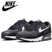 Nike-ar max 90 sapatos esportivos masculinos tênis de corrida ao ar livre rendas até anos clássicos originais 537 384-136