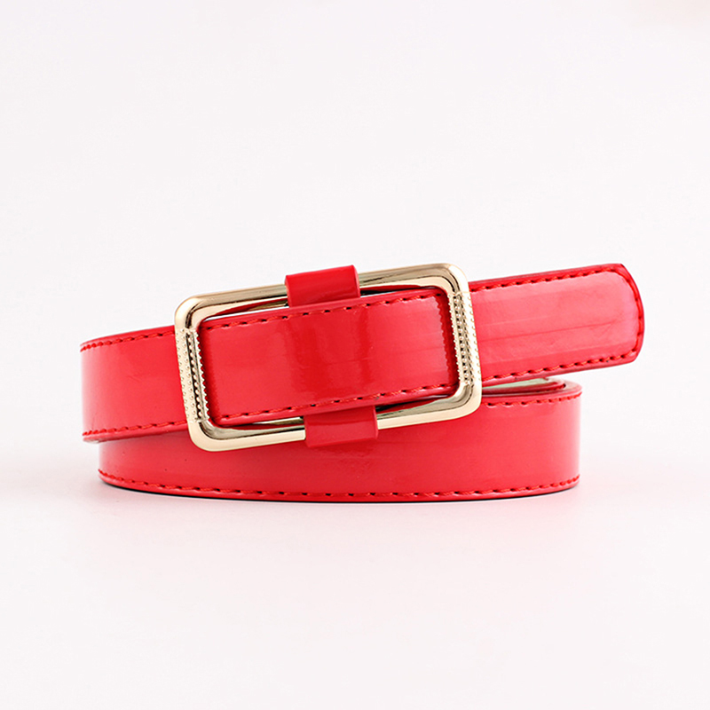 Women Belt Fashion Wide Decorative Belt Without Smooth Loop For Lady Candy Color Girl Clothes Decoration Gifts