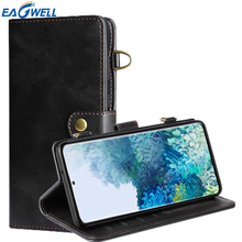 Phone Case for Samsung Galaxy S20 Ultra Note 20 4G 5G S20Plus Note20 Ultra Card Slot Flip Wallet Mobile Cover Shoulder Bag Case