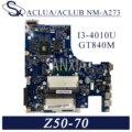 KEFU NM-A273 Laptop motherboard für Lenovo Z50-70 G50-70M original mainboard I3-4010U GT840M