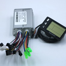 Motor-Controller Lcd-Display BLDC S866 E-Bike 350W And 36V 48V One-Set 18A