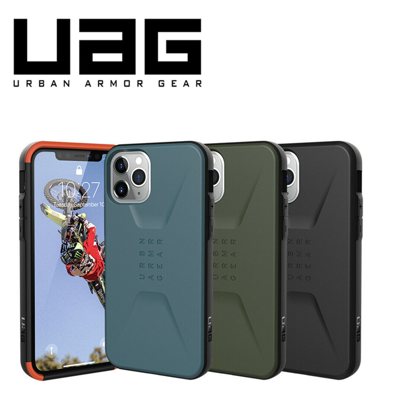 Original Official Urban Armor Gear (UAG) Civilian Spec Case - Rugged Cover For iPhone 11/11 Pro/For iPhone 11 Pro Max