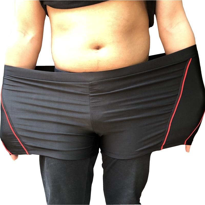 Swimming Trunks New Style Adult Boxer Swimming Beach Swimming Trunks Swimwear Plus-sized MEN'S Swimming Trunks
