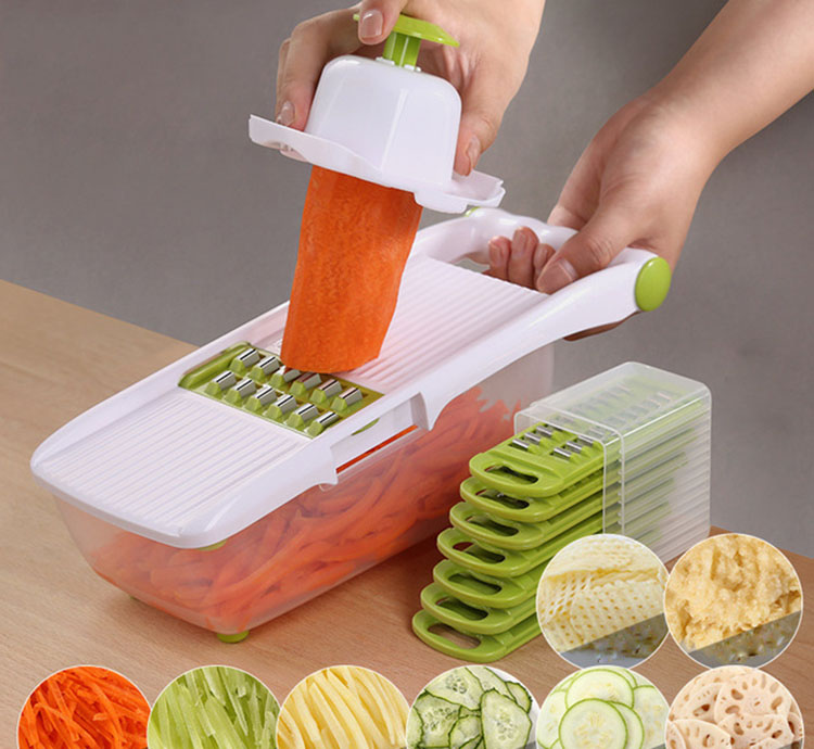 Vegetable Cutter Mandoline Slicer Fruit Potato Peeler Carrot Cheese Grater Tool Kitchen Accessories