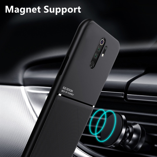 For Xiaomi Mi 9T 9 8 Lite Note 10 A3 A2 A1 Anti Shock Magnet Shockproof Case Cover For Redmi Note 8 9 Pro 9A 7 8T 9C 9S 7A 8A 2