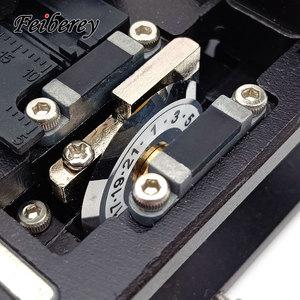 Image 4 - גבוהה דיוק אופטי סיבי קליבר קאטר חיתוך סכין סיב Optique Clivador דה Fibra FTTH כלי סיבים אופטי קליבר