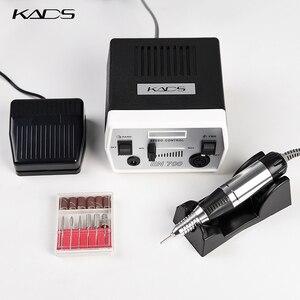 Image 3 - KADS perceuse à ongles 30000 tr/min, outils de manucure et pédicure, appareil électrique avec poignée, ensemble de mèches, 4 couleurs au choix