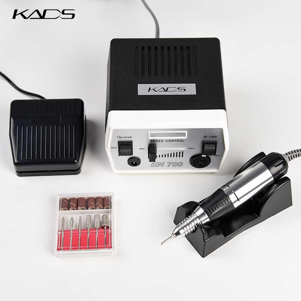 Kads 30000 Rpm Kuku Bor Mesin Alat Manicure Pedicure Listrik Mesin dengan Handle & Bor Bit Set 4 Warna Pilihan