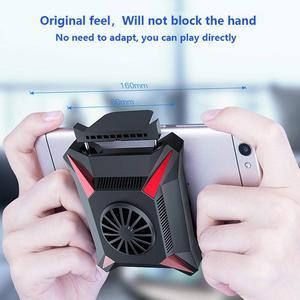 Image 3 - טלפון נייד Cooler עבור Smartphone אנדרואיד Huawei Xiaomi Sumsung iPhone מקרה PUBG משחק קירור זרוק טמפרטורת רדיאטור
