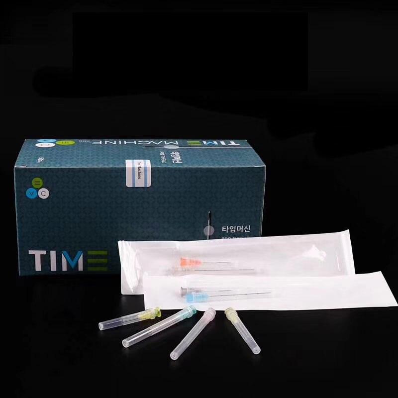 Needle Tips 25G/27G/30G Plain Ends Notched Endo Needle Tip Syringe 2pcs/pack * 10 Packs