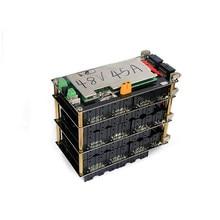 48v 높은 전원 13S /14S 전원 벽 보호 보드 PCB 18650 리튬 배터리 팩 아니 납땜 DIY 배터리 상자