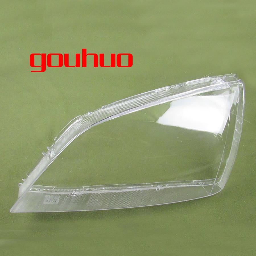 For Kia Sorento 3.5 2.4 2004 2005 Headlamp Shade Lampshade Transparent Shade Headlamp Cover Plastic