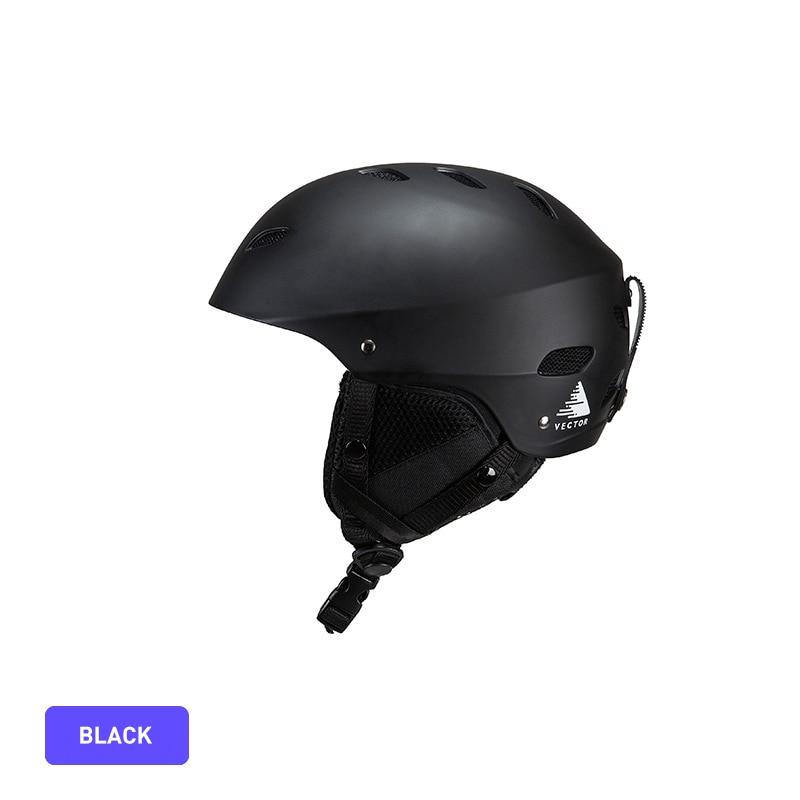 Ski Helmet ABS Cap PC Inner Cap Adjustable Helmet Size Sweat Chin Pad Outdoor Sports Protection Helmet Ski Protective Helmet in Ski Helmets from Sports Entertainment