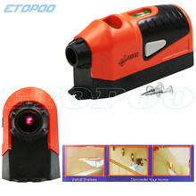 Mini ferramenta de nível a laser vertical, nível a laser reto, linha guiada a nível laser, ferramenta de medição de linha, venda imperdível
