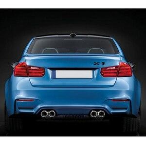 Image 5 - Pour BMW X1 X3 X5 X6 E46 E36 F30 M3 M4 M5 740Li 325i En Plastique BRICOLAGE Nombre Queue Autocollant Arrière Coffre Lettre Emblème Décoration Extérieure