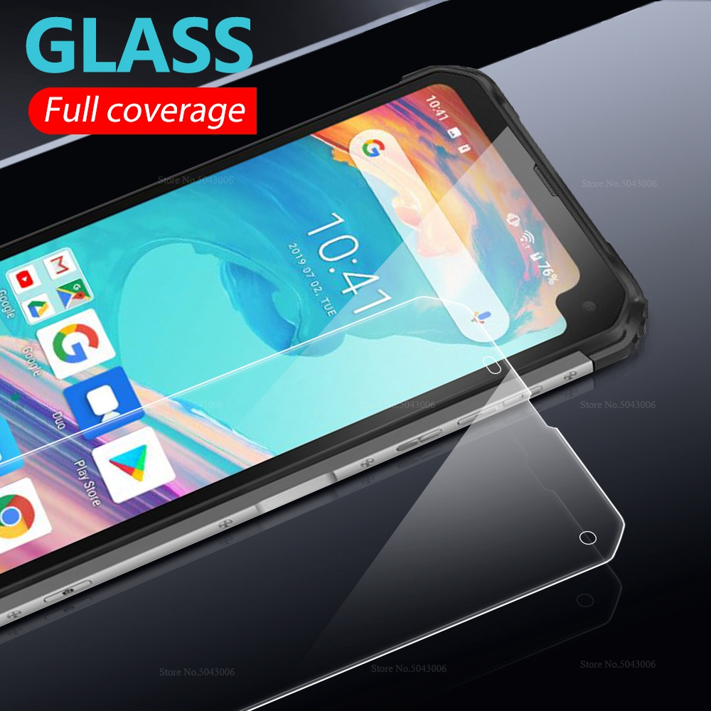 Transparent Screen Protector For <font><b>BLACKVIEW</b></font> BV6100 BV 9600 <font><b>9700</b></font> <font><b>PRO</b></font> 9500 PLUS 9H Clear Front Tempered Glass Protective Glass image