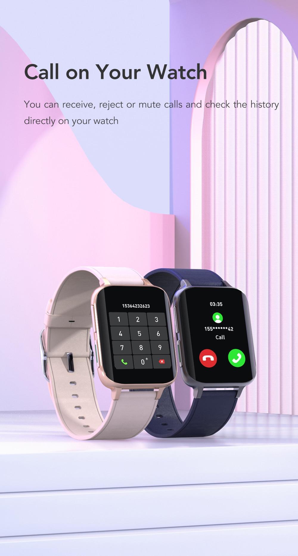 H6cc238911ca34c8da56c0da5cd97fee7n SANLEPUS 2021 NEW Dial Calls Smart Watch Men Women Waterproof Smartwatch MP3 Player For OPPO Android Apple Xiaomi Huawei