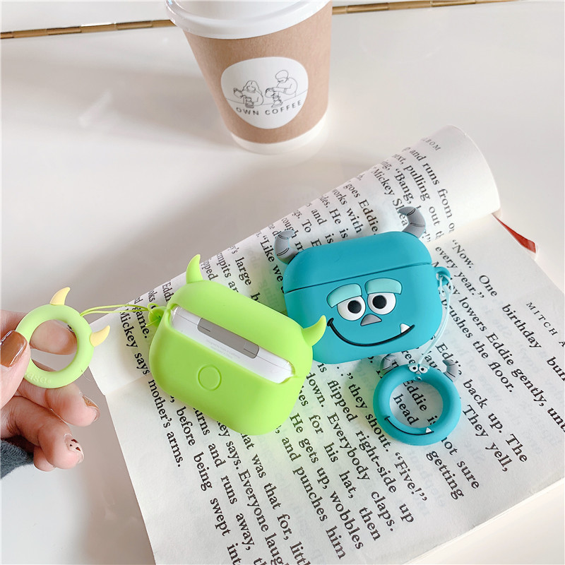 Cute 3D Silicone Case for AirPods Pro 131