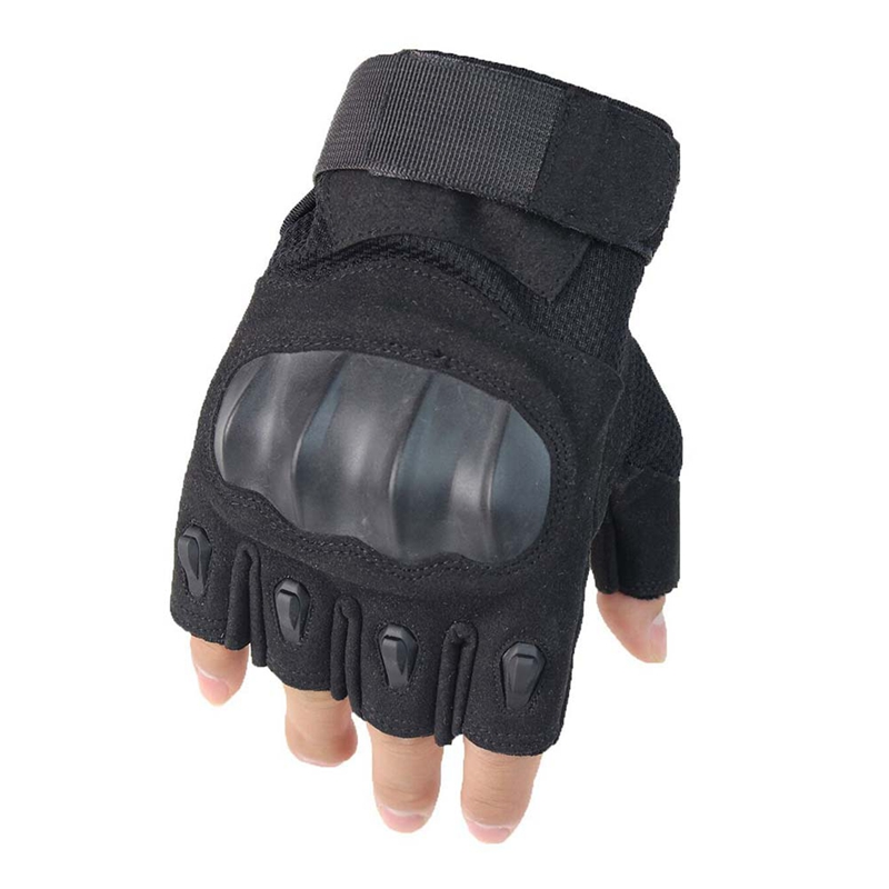 Tactical Half Finger Gloves Military Army Paintball Airsoft Bicycle Motorcross Combat Hard Knuckle Cycling Climbing Glovesm