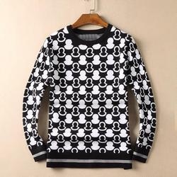 Neue 19 Männer Luxus Winter Baumwolle Klassische stickerei hut Streifen Casual Pullover pullover Asiatische Stecker Größe Hohe qualität Drake # m91