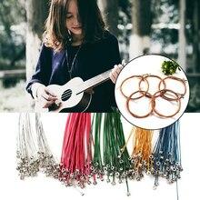 4/6pcs Ukulele Guitar Strings Replacement Parts Ukulele Strings Kit Universal Portable Musical Instrument Accessories