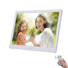 """10,"""" HD Цифровая фоторамка картина мульт-медиаплеер MP3 MP4 будильник для подарка"""
