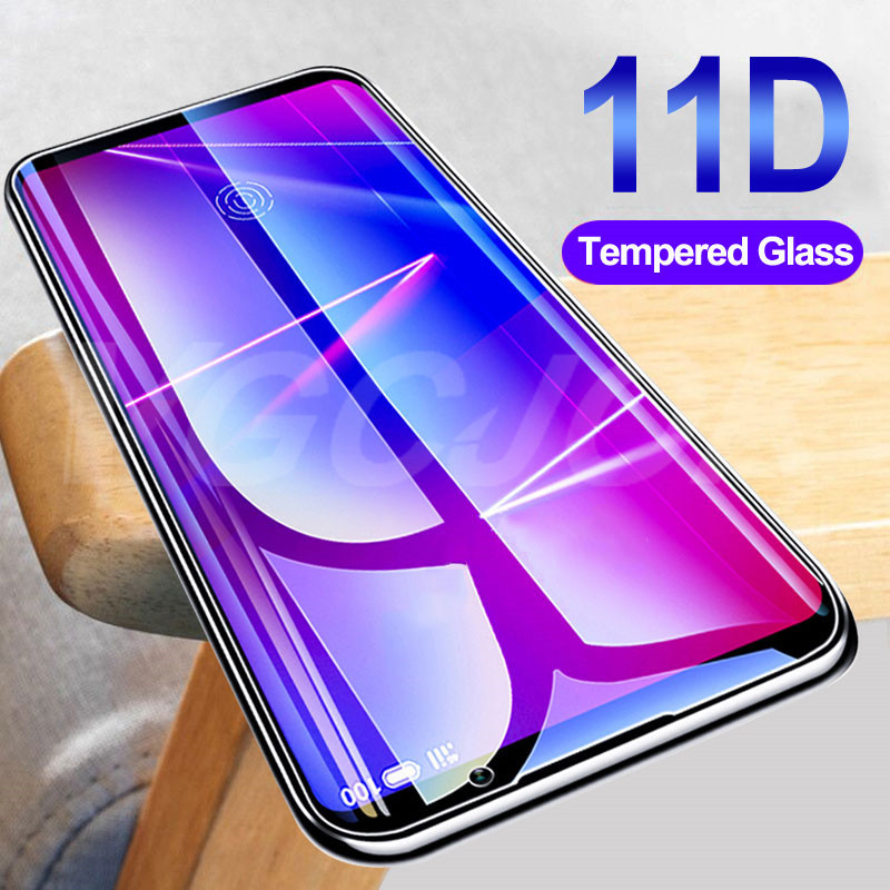 11D Tempered Glass For Meizu 16 16th Plus 16X 16S 16XS 16T Screen Protector On V8 X8 M8 Lite Note 8 9 Protective Glass Film Case