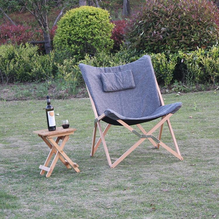 Katlanır Kelebek Sandalye Kumaş Yastık Döşeme Oturma Odası - Mobilya - Fotoğraf 5