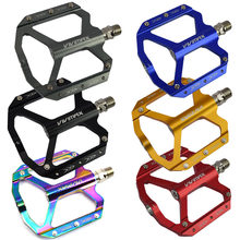 VIVIMAX Mountain Bike Bearing Aluminum Alloy Pedals CNC Speed Drop UD Palin Lightweight Footboard Quick Release Bicycle Pedal