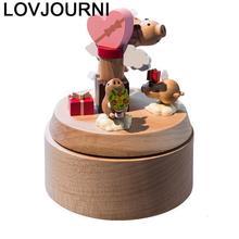 Caixinha Karuzela Pozytywka Carrusel Madera Birthday Gift For Girlfriend Wood De Musica Boite A Musique caja Musical Music Box