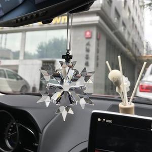 Image 2 - カーマスコットアクセサリー透明クリスタルクリスマスの車の装飾装飾車のための