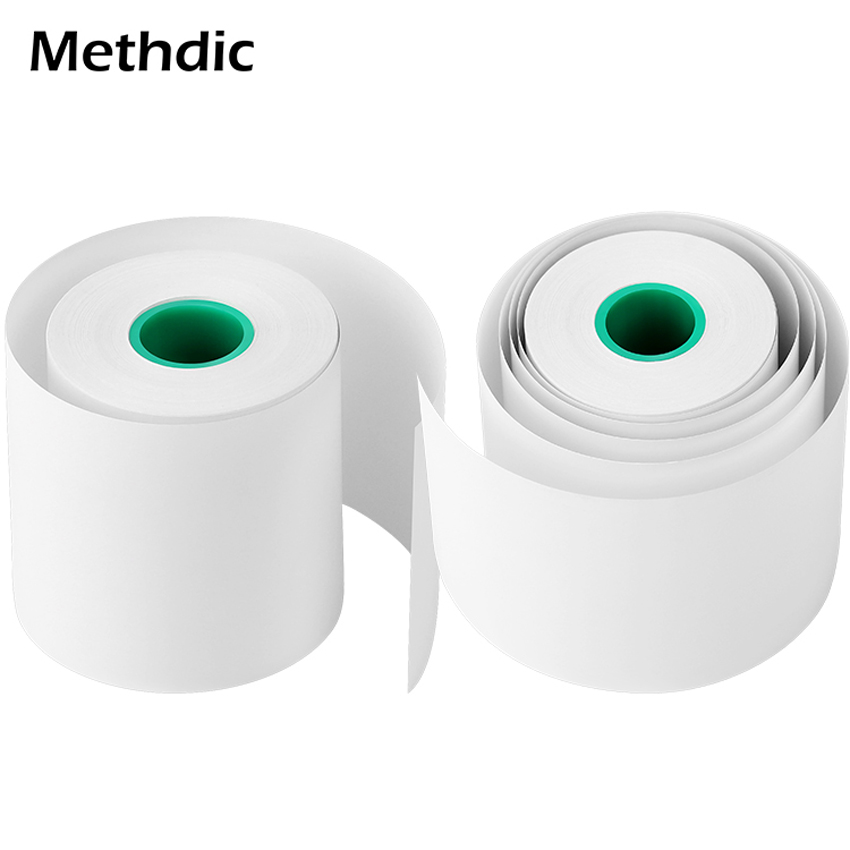 Methdic 10 Rolls  57*50mm Best Quality  Thermal Cash Register  Paper Rolls For ATM