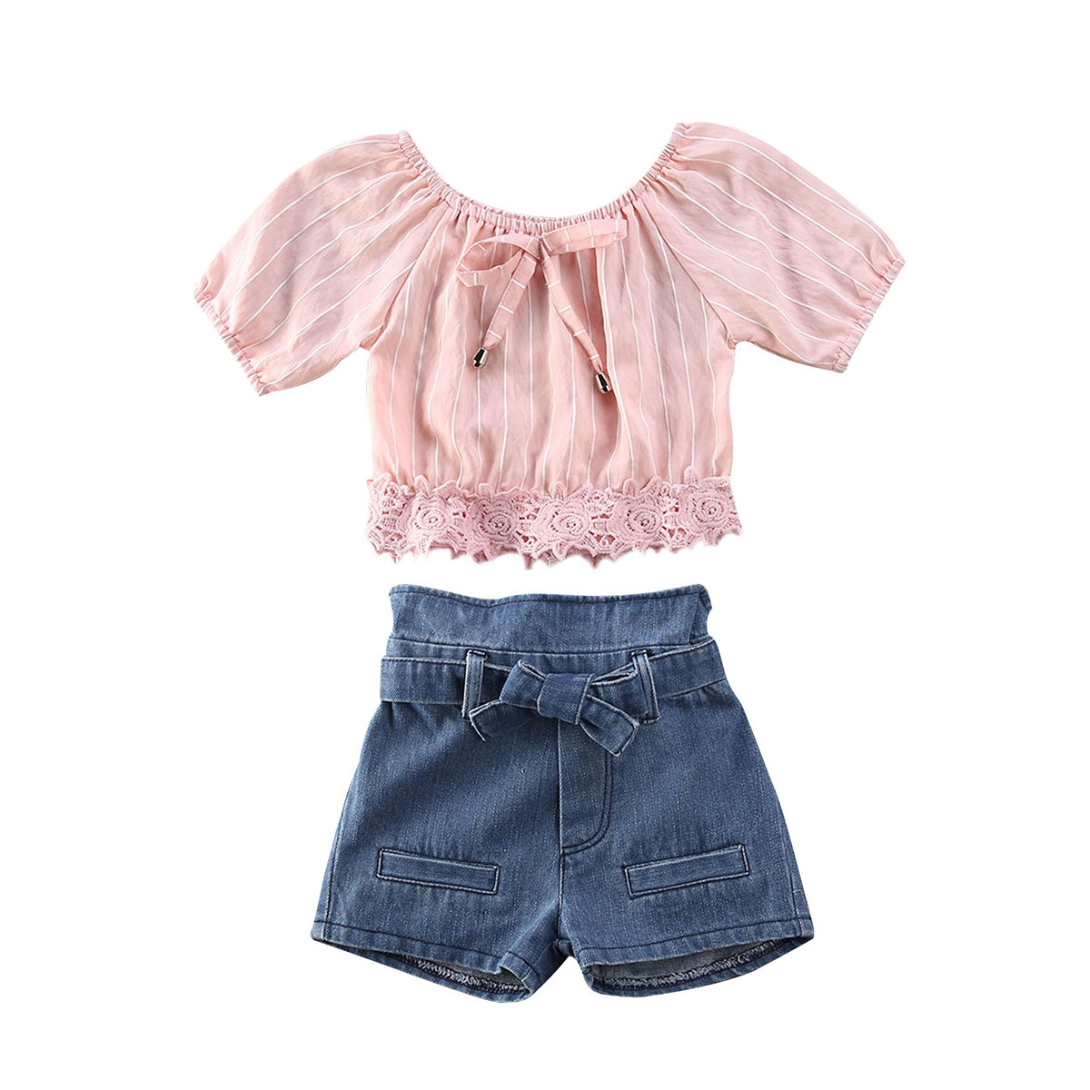 18M-5Year baby girls jeans shorts 2020 summer girl short pants for kids ripped jeans for children denim shorts 6