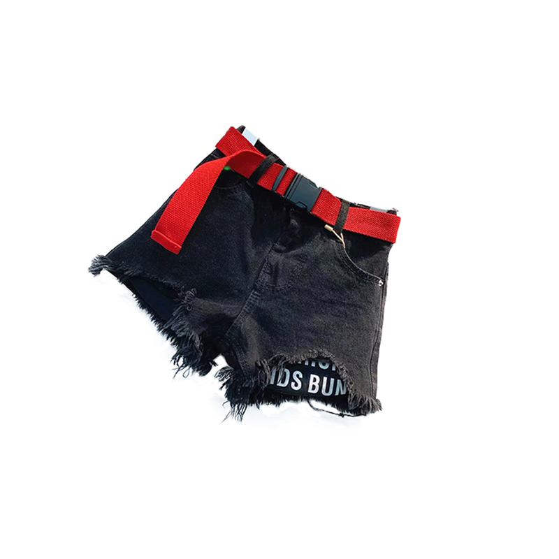 2020 New Kid Summer Jeans Denim Hot Shorts With Waistband 2