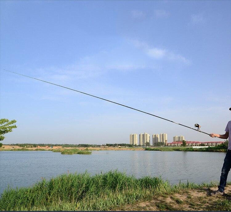 Pesca Telescópica Fiação Vara De Pesca Alimentador pesca marítima J219